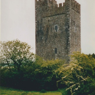The Mackesey Castle in Ireland.